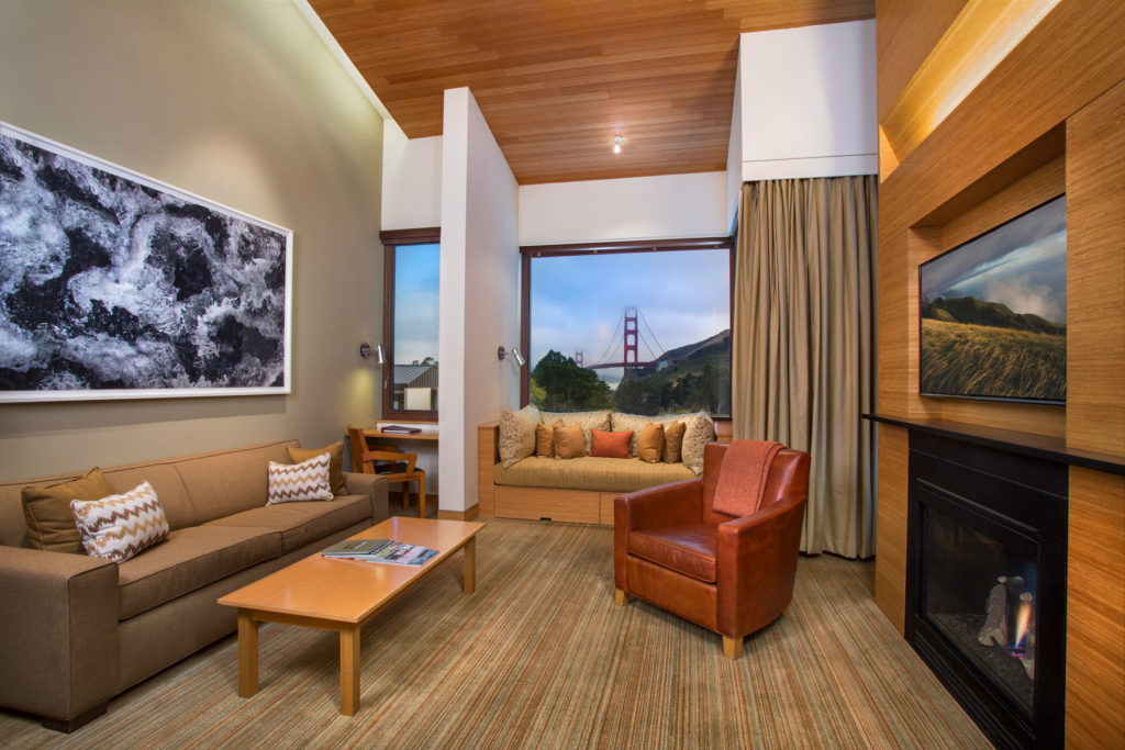 Cavallo Point Contemporary Suite