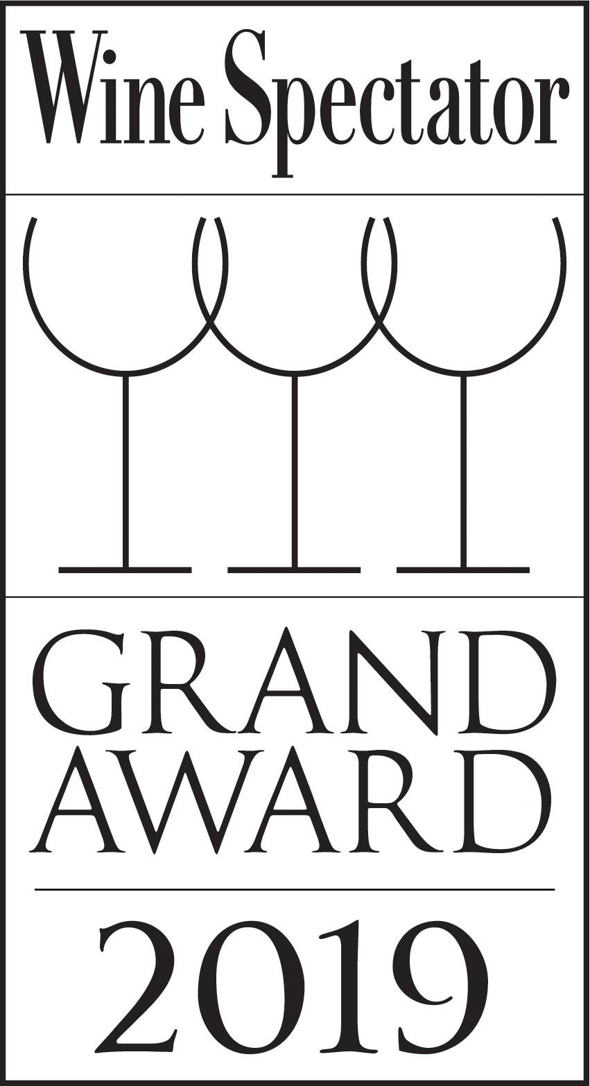 Wine Spectator 2019 Grand Award