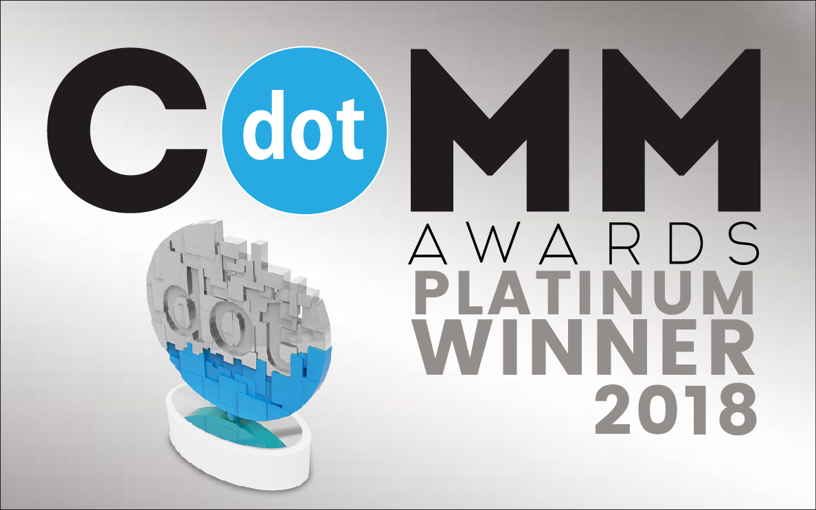 2018 DotComm Platinum Winner