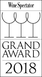 Wine Spectator 2018 Grand Award